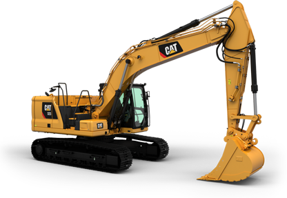 Caterpillar digger buckets and excavator attachments