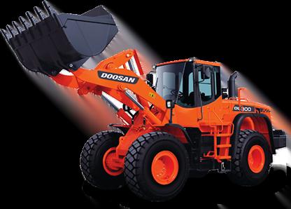 Doosan digger buckets and excavator attachments