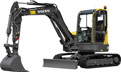 Volvo digger buckets and excavator attachments