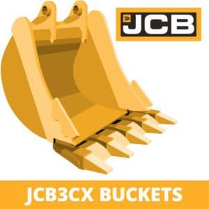 jcb 3CX excavator digger bucket
