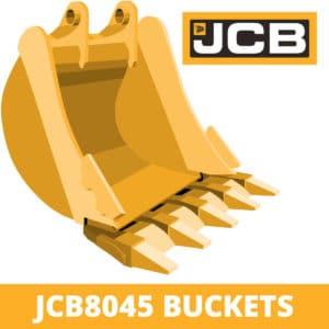 jcb 8045 excavator digger bucket