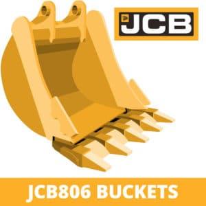 jcb 806 excavator digger bucket