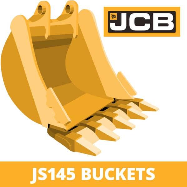jcb js145 excavator digger bucket