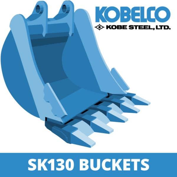 kobelco sk130 excavator digger bucket
