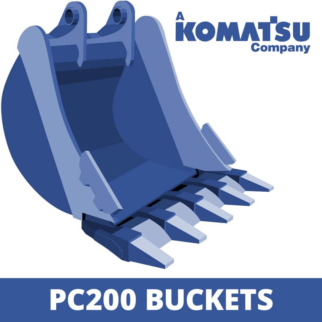 Komatsu PC200 Digger Buckets