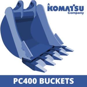 komatsu pc400 excavator digger bucket