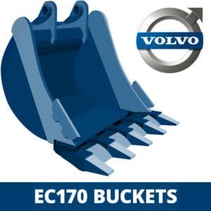 volvo ec170 excavator digger bucket
